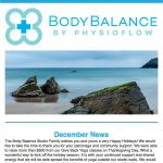Body Balance Physioflow Newsletter